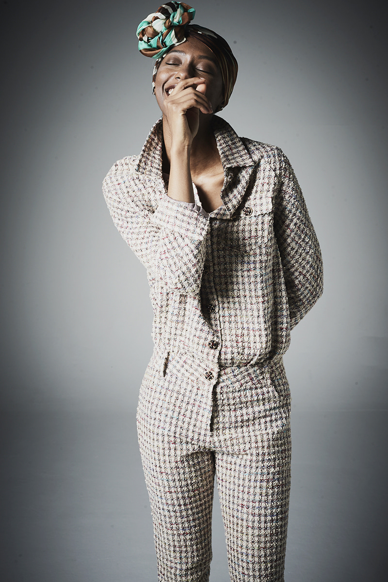 joosooloo 제작상품 > Luxury Tweed Jumpsuit(품절)
